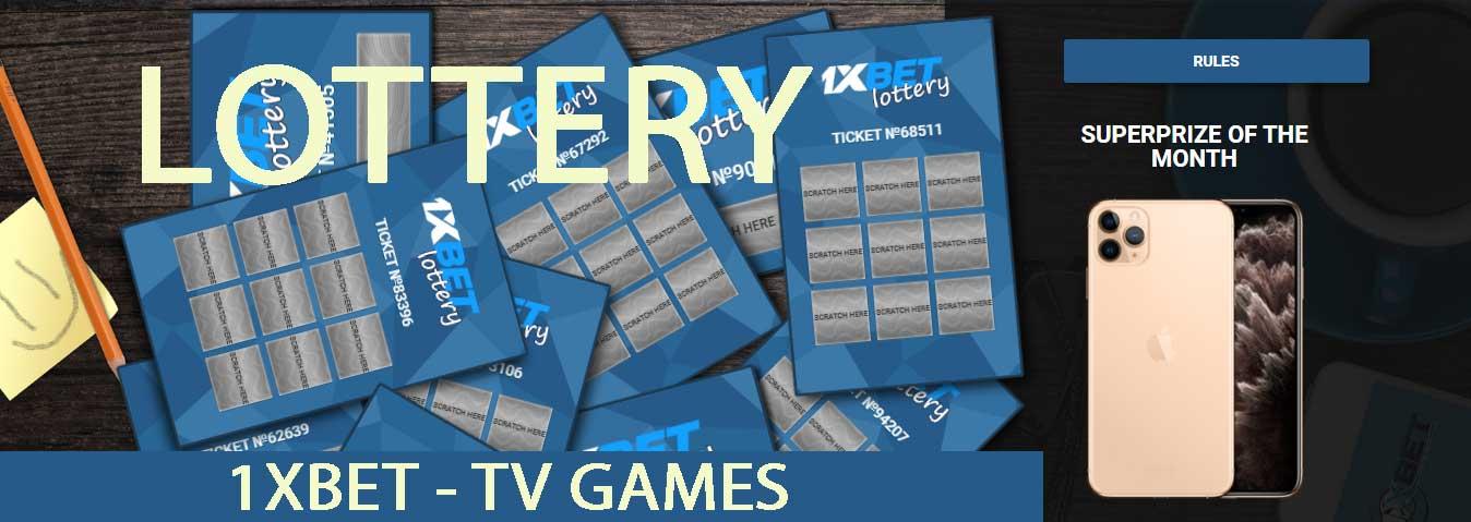 1xBet - Giochi TV