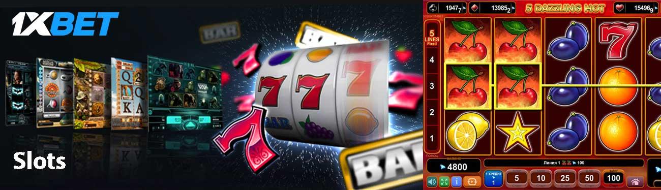 1xBet Slot giochi