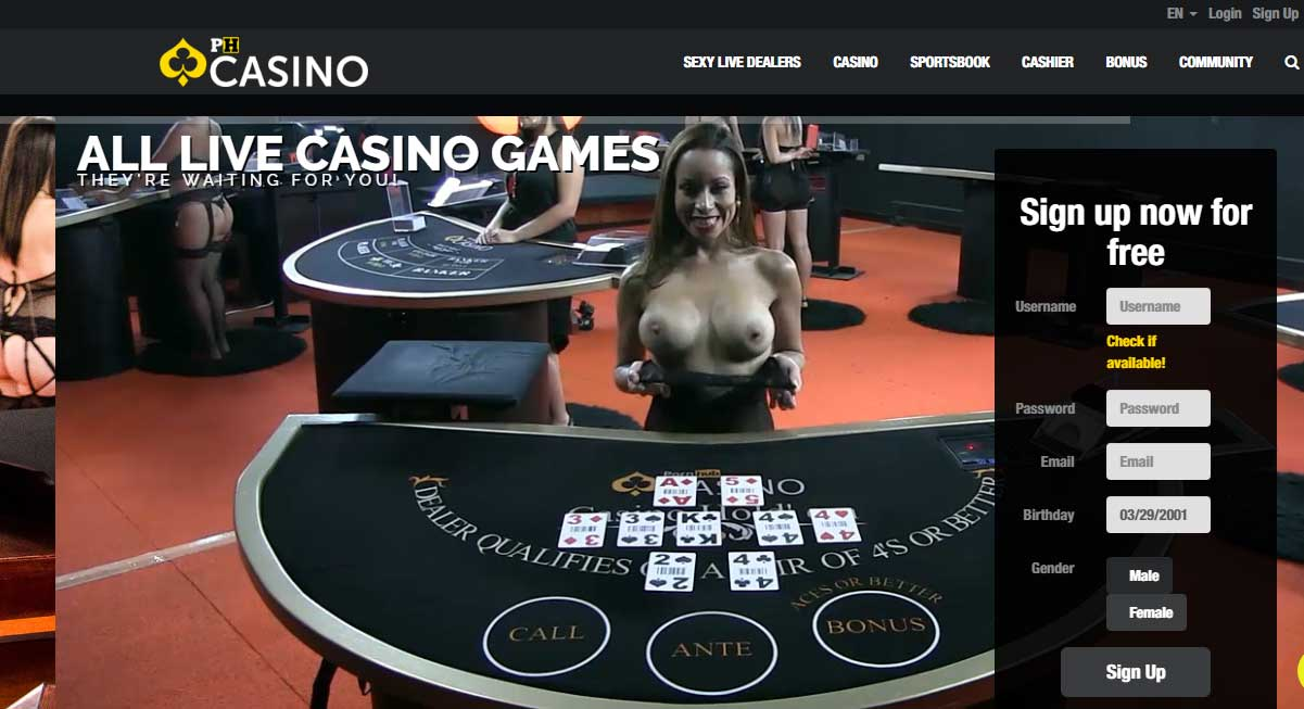 PH Casino Game Portfolio - Erotic Roulette